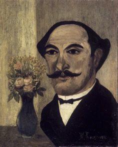 Henri Rousseau, autoportrait - 1905