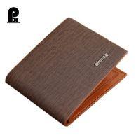 2016 new wallet Men Wallets Leather pu simple thin Purse Card Holders Money bag male men's wallet carteras Portfoli cuzdan PX