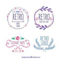 Insignias Retro