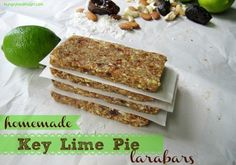 No bake snack bars with only 5 all natural ingredients. #eatclean