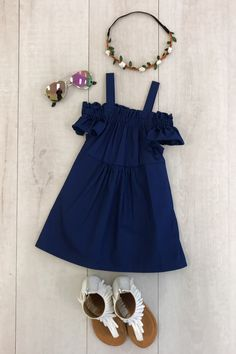 Shop cute kids clothes and accessories at Sparkle In Pink! With our variety of kids dresses, mommy + me clothes, and complete kids outfits, your child is going to love Sparkle In Pink! Cute Kids Fashion, Cute Outfits For Kids, Toddler Girl Outfits, Baby Girl Fashion, Little Girl Dresses, Toddler Fashion, Girls Dresses, Black Off Shoulder Dress, African Dresses For Kids