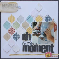 International Scrapbook Kits (and some gorgeous layouts!)