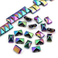Hematyt piramidka tęczowa 8x5mm [10szt] Stone, Logos, Rock, Logo, Stones, Batu