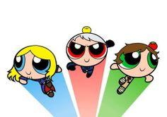 Mein gott! Bad Touch Trio evolves into powerpuff boys #LOL