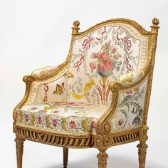 petite triannon furniture - Google Search Fancy Chair, Louis Xvi, Architectural Digest, Marie Antoinette, Accent Chairs, Armchair, Architecture, Wood, Furniture
