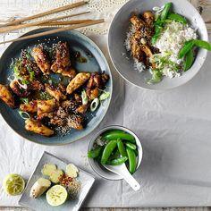 Chicken Teriyaki With Sugar Snap Peas