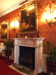 the dining room - polesden lacey - great bookham - surrey