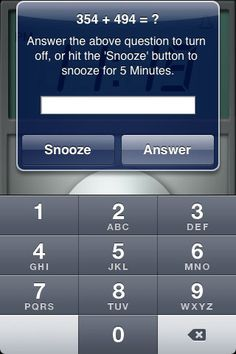 Math Alarm. ok i need this. http://www.universitychic.com/article/apps-help-college-students-organization #UChic