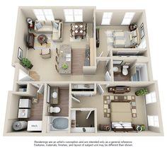 TGM Creekside Village Apartments | Real Estate Investment Advisers-TGM Associates - Floorplans