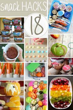 18 Kid-Friendly Snack Hacks   Kids Activities Blog