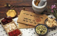 Hierbas en el Tratamiento de Medicina China