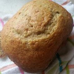 A quick banana bread for the bread machine. Bread Maker Recipes, Pastry Recipes, Baking Recipes, Quick Banana Bread, Extra Recipe, Bread Cake, Bread And Pastries, Happy Foods, Bread Baking