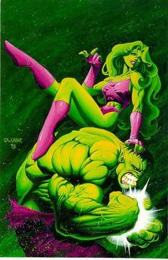She-Hulk and The Incredible Hulk