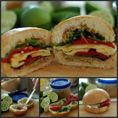 Mini Vegetarian Muffaleta sandwiches for Mardi Gras