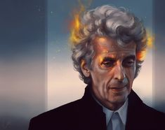 Time to Leave...  [By Julia S]. #DoctorWho #PeterCapaldi