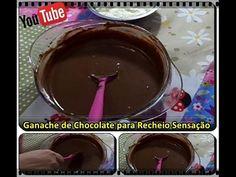 Ganache de Chocolate para Recheio de Bolo com Déby & Ian :) - YouTube