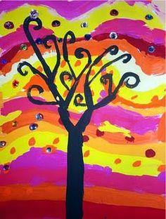 El arte en el aula trabajamos con Gustav Klimt  (4)