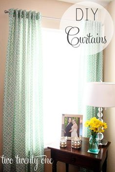 DIY Tutorial: DIY Curtains / How to Make Curtains - Bead