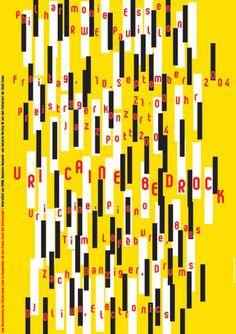 Niklaus Troxler, 2004 - Uri Caine, Essen