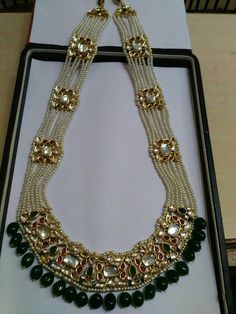 Indian Jewelry - Stylish Jewelry for that Indian Bride ** Check this useful article by going to the link at the image. Royal Jewelry, India Jewelry, Beaded Jewelry, Jewelery, Silver Jewelry, Diamond Jewelry, Bulgari Jewelry, Silver Rings, Indian Jewellery Design