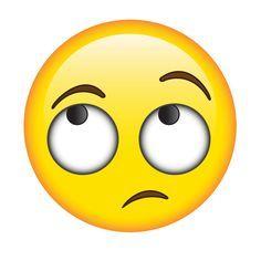 Eye Rolling Emoji Rolling eyes e Just Smile, Smile Face, Emojis Meanings, Emoji Clipart, Naughty Emoji, Emoji Images, Emoji Pictures, Emoji Symbols, Eyes Emoji