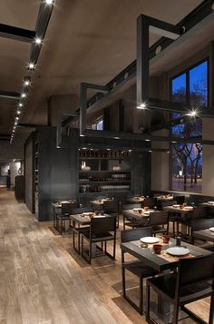 Un restaurante tradicional japonés se ilumina con lo último en iluminación 03- iluminacion.net
