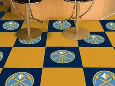 Use the code PINFIVE to receive an additional 5% discount off the price of the  Denver Nuggets NBA Carpet Tiles at sportsfansplus.com