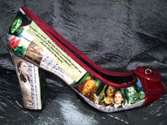Wizard of Oz shoes, side view!
