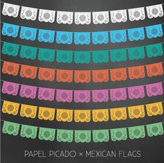 on etsy mexican lace flag -