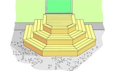 Entrétrappa – Gör det själv – BOLIST Front Porch Steps, Deck Steps, Front Deck, Screened In Porch, Patio Stairs, Patio Doors, Deck Pictures, House Deck, Building A Deck