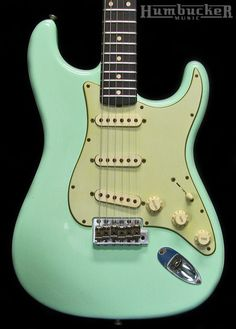 Fender Custom 60 Relic Stratocaster - Surf Green | Humbucker Music