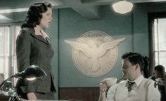 Peggy Carter, Daniel Sousa || AC 1x01 Now is Not the End || 245px × 150px || #animated