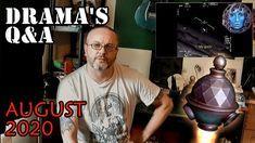 Drama's Q&A August 2020 | UFOs & Craft Stuff