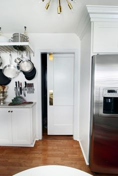 Sliding Door in Kitchen