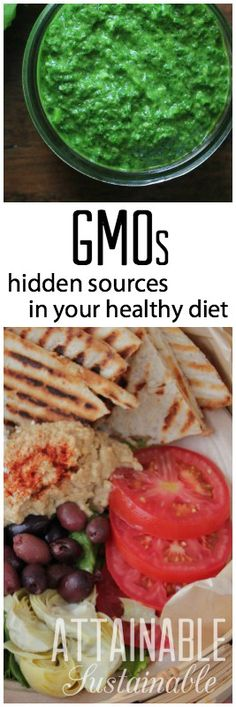 Are you SURE that healthy meal is free of genetically modified organisms? They're sneaky buggers. Here's a (partial) list of where you should delve a little deeper.