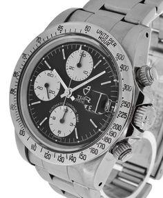Tudor Big Block Chronograph $4,650 #chronograph steel bracelet; circumference approximately 18.50cm