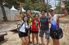 My Triathlon relay gang