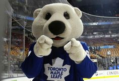 CARLTON Toronto Maple Leafs, Teddy Bear, Leaves, Animals, Sports, Hs Sports, Animales, Animaux, Sport
