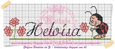Cross Stitch Baby, Bullet Journal, David, Disney, Blog, Cross Stitch For Baby, Female Names, Cross Stitch Animals, Monogram Alphabet