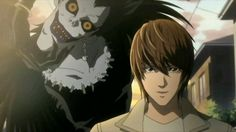 Death Note (I love and hate Ryuuk so much. But it's times like this where I like his character more than I dislike him. There's just no middle ground.)