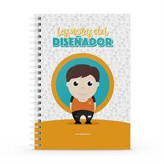 Cuaderno XL - Las notas del diseñador, encuentra este producto en nuestra tienda online y personalízalo con un nombre. Notebook, Cover, Engineer, Notebooks, Report Cards, Store, The Notebook, Exercise Book