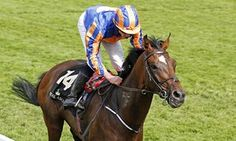 Order Of St George and Ryan Moore travelled through the traffic to win the Coronation Cup for Aidan O'Brian.