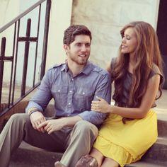 Jessa Duggar and Ben Seewald engagement photos