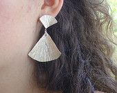 handmade silver earrings - Vroullis