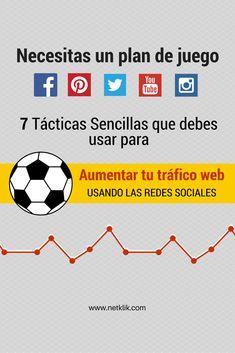 como aumentar el trafico webPon en práctica 7 tácticas sencillas y aprende como aumentar tu tráfico web usando las redes sociales de forma inteligente.