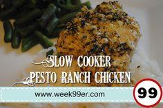 Slow Cooker Pesto Ranch Chicken Recipe