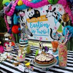 A Party Animal Zoo 2nd Birthday Celebration - Party Animal
