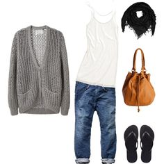 Casual work outfit, created by stefaniedepreter on Polyvore