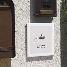 Exterior Signage, Apartment Design, Frame, Wall, Home Decor, Shop, Tables, Lounges, Picture Frame