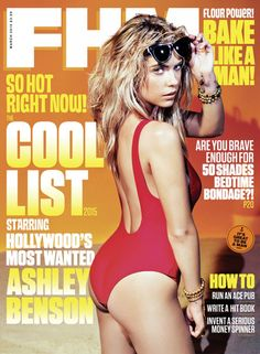 Ashley Benson poses for cover of FHM UK, March 2015 - http://celebs-life.com/?p=82626